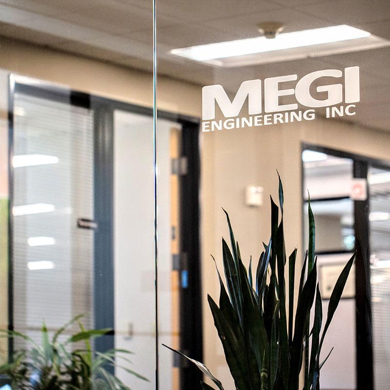 MEGI Portland area office building interior